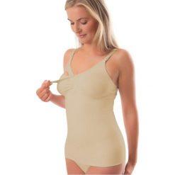 Bluzki ciążowe: Koszulka do Karmienia Neutralna r. L