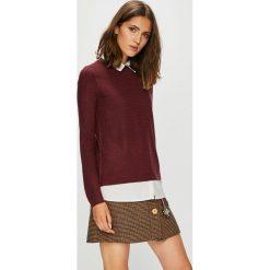 Jacqueline de Yong - Sweter. Szare swetry klasyczne damskie marki Jacqueline de Yong, l, z dzianiny. Za 119,90 zł.