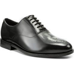 Półbuty CLARKS - Ellis Vincent 261273807 Black Leather. Czarne buty wizytowe męskie Clarks, z materiału. Za 629,00 zł.