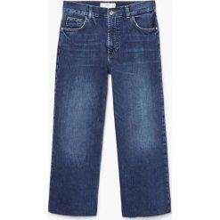 Mango - Jeansy Minimal. Szare jeansy damskie relaxed fit marki Mango, l, z dzianiny. Za 199,90 zł.
