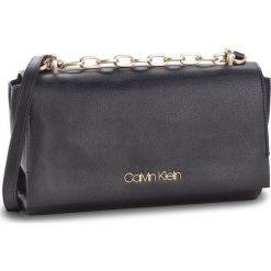 Torebka CALVIN KLEIN - Frame Shoulder Bag K60K604593 001. Czarne listonoszki damskie marki Calvin Klein, ze skóry ekologicznej. Za 599,00 zł.