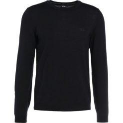 Swetry klasyczne męskie: BOSS ATHLEISURE CAIO Sweter black