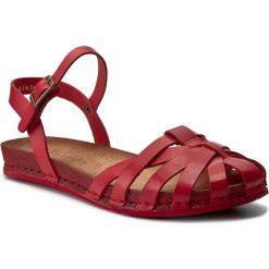 Sandały damskie: Sandały MACIEJKA - 03074-08/00-0 Czerwony