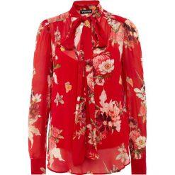 TWINSET CAMICIA Bluzka red garden. Czerwone bralety marki Twinset, z materiału. Za 799,00 zł.