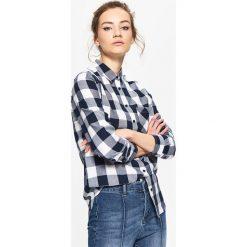 Koszula w kratę - Granatowy. Niebieskie koszule męskie marki Cropp, l. Za 79,99 zł.