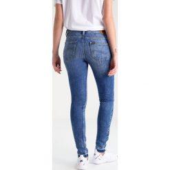 Lee SCARLETT Jeans Skinny Fit custom blue. Niebieskie jeansy damskie marki Lee. W wyprzedaży za 263,20 zł.