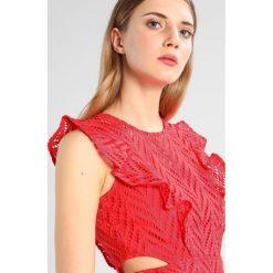 Sukienki hiszpanki: Bardot KIRA FRILL DRESS Sukienka letnia red