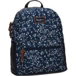 Plecaki damskie: Plecak w kolorze niebieskim – (S)28 x (W)30 x (G)13 cm