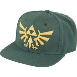 Czapki damskie: The Legend Of Zelda Golden Logo Czapka Snapback ciemnozielony