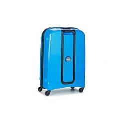Walizki twarde Delsey  BELMONT VALISE TROLLEY 4R 70CM. Niebieskie torebki klasyczne damskie marki Delsey. Za 609,00 zł.
