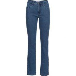 """Dżinsy """"authentik-stretch"""" CLASSIC bonprix niebieski. Zielone jeansy damskie marki bonprix, w kropki, z kopertowym dekoltem, kopertowe. Za 59,99 zł."""