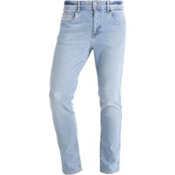 KIOMI Jeansy Slim Fit light blue. Niebieskie rurki męskie KIOMI. Za 129,00 zł.