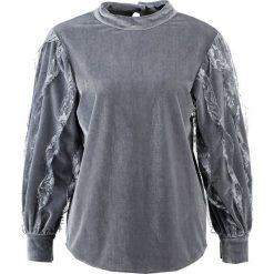 Bluzki asymetryczne: Navy London JOAN Bluzka z długim rękawem grey