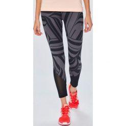 Adidas Performance - Legginsy. Szare legginsy skórzane marki adidas Performance, m. Za 169,90 zł.