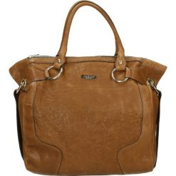Torba - FEDERICA02 SI. Żółte torebki klasyczne damskie Venezia, ze skóry. Za 629,00 zł.