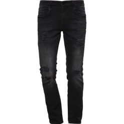 Redefined Rebel STOCKHOLM Jeansy Slim Fit black. Czarne jeansy męskie marki Redefined Rebel. Za 169,00 zł.