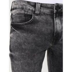 Spodnie męskie: Only & Sons ONSAVI WARP ACID WASH Jeans Skinny Fit black