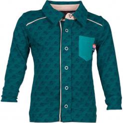 """Koszula """"1234"""" w kolorze morskim. Niebieskie koszule chłopięce marki 4FunkyFlavours Kids, z klasycznym kołnierzykiem. W wyprzedaży za 82,95 zł."""