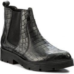 Sztyblety BRONX - 44145-F BX 823 Black 01. Czarne botki damskie skórzane marki Bronx. W wyprzedaży za 199,00 zł.