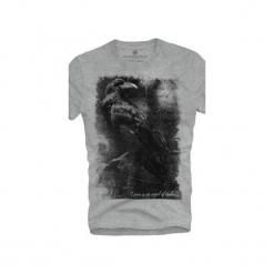 T-shirt UNDERWORLD Ring spun cotton Raven. Szare t-shirty męskie z nadrukiem marki Underworld, m, z bawełny. Za 59,99 zł.