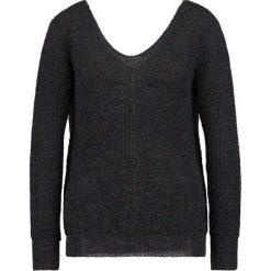 Swetry klasyczne damskie: See u Soon LUREX JUMPER  Sweter dark grey
