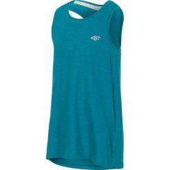 Bluzki dziewczęce: Koszulka bez rękawów dla małych dziewczynek JTSD109 – zielony melanż