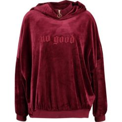 Bluzy rozpinane damskie: Brooklyn's Own by Rocawear Bluza z kapturem bordeaux