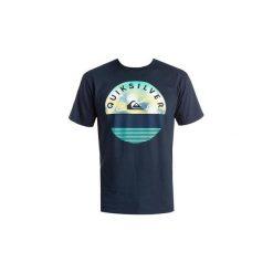 T-shirty z krótkim rękawem Quiksilver  T-shirt   EQYZT03629-BYJ0. Niebieskie t-shirty męskie marki Quiksilver, l, narciarskie. Za 119,00 zł.