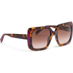 Okulary przeciwsłoneczne FURLA - Furla Mira 995250 D 239F RE0 Havana 003. Brązowe okulary przeciwsłoneczne damskie Furla. Za 805,00 zł.