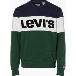 Levi's - Męska bluza nierozpinana, zielony. Zielone bluzy męskie rozpinane marki QUECHUA, m, z elastanu. Za 259,95 zł.