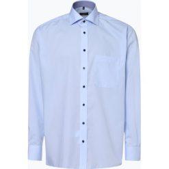 Eterna Comfort Fit - Koszula męska – niewymagająca prasowania, niebieski. Niebieskie koszule męskie non-iron Eterna Comfort Fit, m, z klasycznym kołnierzykiem. Za 149,95 zł.