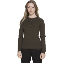Swetry damskie: Sweter w kolorze khaki