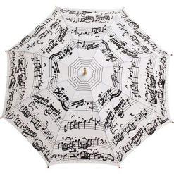 """Parasole: Parasol """"Notes"""" w kolorze biało-czarnym"""