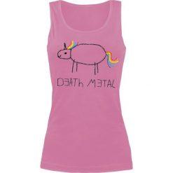 Topy damskie: Musik Death Metal Top damski jasnoróżowy (Light Pink)