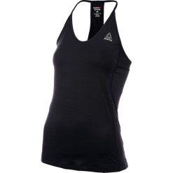 Koszulka sportowa damska REEBOK ACTIVCHILL TANK / BK3134 - REEBOK ACTIVCHILL TANK. Czarne bluzki sportowe damskie Reebok, z materiału, na ramiączkach. Za 119,00 zł.