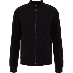 BOSS CASUAL ZORN Bluza rozpinana black. Czarne bluzy męskie rozpinane BOSS Casual, m, z bawełny. Za 669,00 zł.