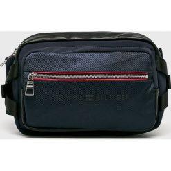 Tommy Hilfiger - Nerka. Czarne walizki TOMMY HILFIGER, w paski, z materiału, małe. Za 449,90 zł.