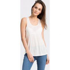 Roxy - Top Dalena. Białe topy damskie marki Roxy, l, z nadrukiem, z materiału. W wyprzedaży za 59,90 zł.