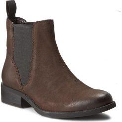 Sztyblety VAGABOND - Cary 4220-450-31 Java. Brązowe buty zimowe damskie marki Vagabond, z materiału, na obcasie. W wyprzedaży za 279,00 zł.