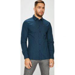 Tommy Jeans - Koszula. Szare koszule męskie jeansowe marki Tommy Jeans, l, w kratkę, z klasycznym kołnierzykiem, z długim rękawem. Za 299,90 zł.