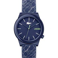 Lacoste - Zegarek 2010957. Szare zegarki męskie Lacoste, szklane. Za 399,90 zł.