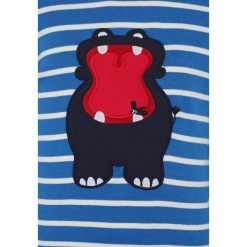 Fred's World by GREEN COTTON ZGREEN BABY HIPPO STRIPE Bluzka z długim rękawem royal blue/cream - 2