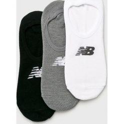 New Balance - Skarpety (3-pack). Szare skarpetki męskie New Balance, z elastanu. Za 39,90 zł.