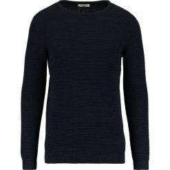 Swetry klasyczne męskie: Selected Homme SHXNEWVINCEBUBBLE CREW NECK Sweter navy blazer/twisted with black