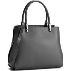 Torebka CREOLE - K10301  Szary. Szare torebki klasyczne damskie Creole, ze skóry. W wyprzedaży za 249,00 zł.