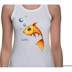 Bluzki, topy, tuniki: Złota rybka – top (rożne rozmiary, 2 kolory)
