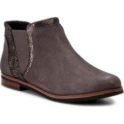 Sztyblety CAPRICE - 9-25304-29 Anth.Sue.Multi 255. Szare buty zimowe damskie Caprice, z polaru, na obcasie. W wyprzedaży za 229,00 zł.