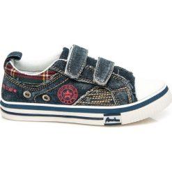 Buty dziecięce: Jeansowe trampki dla chłopca dla dzieci
