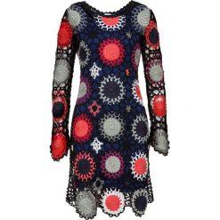 Sukienki hiszpanki: Sukienka szydełkowa bonprix czarny