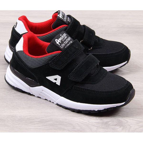 Buty sportowe chłopięce czarne American Club 30